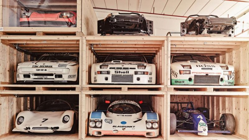porsche-secret-warehouse-storage-rack