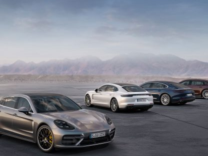 Porsche to Introduce New Panamera V6 and Executive Model in LA.