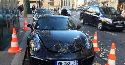Poorly Parked Porsche Gets Bombed Not Booted