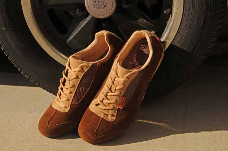 Hunziker Design Steve McQueen Driving shoes