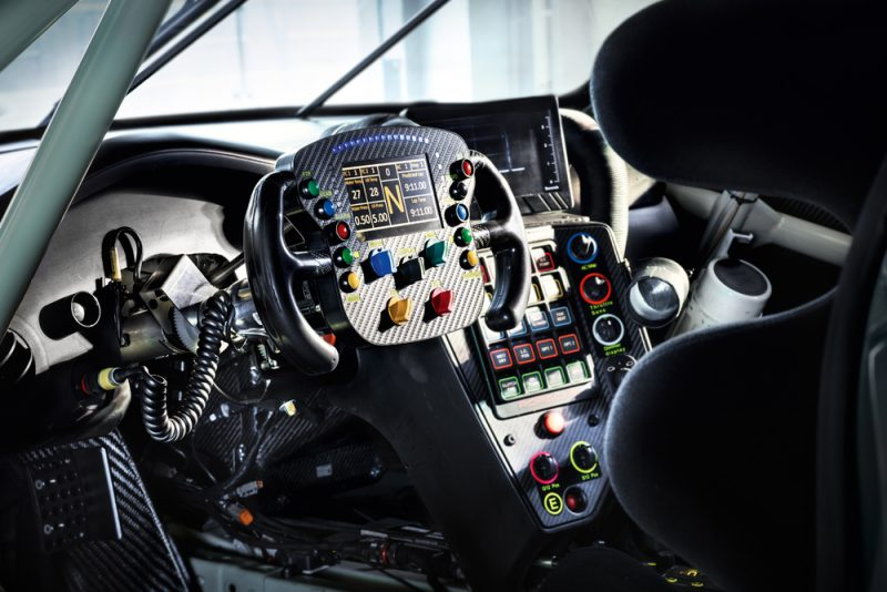 2017 Porsche 911 RSR mid engine 911 interior