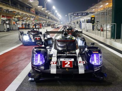 Porsche's Results and Pictures at the Final Round of the 2016 WEC in Bahrain