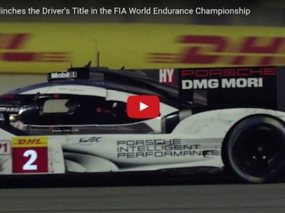 Porsche Finishes FIA WEC Season In Style by Winning Drivers' Title!