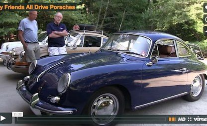 Tom Roos Porsche video
