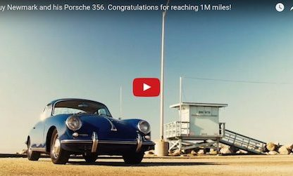 Guy Newmark and His 356 Finally Reached 1,000,000 Miles