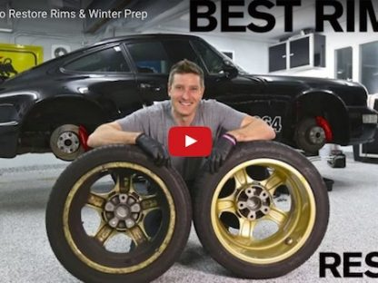 How to Restore Your Porsche's Wheels and Prep Them For Winter
