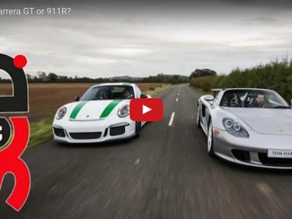 Porsche 911 R vs Carrera GT