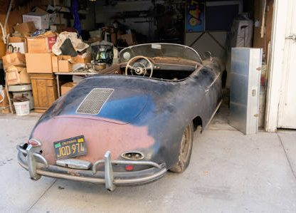 Stored for 42 Years: 1958 356A Super Speedster Garage Find