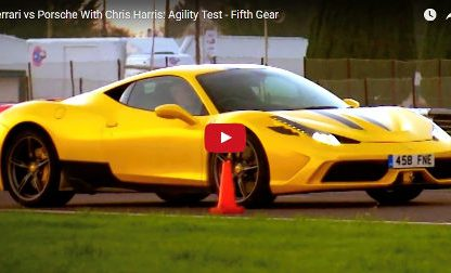 Video: Porsche 911 GT3 vs. Ferrari 458 Speciale