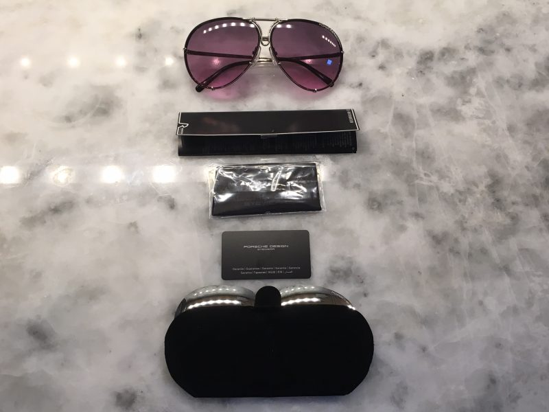 What you'll find inside the box of your Porsche Design P'8479 Sunglasses