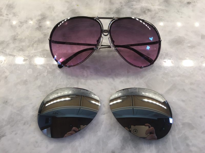 a63c211dbc The sunglasses come in 4 different eye sizes (size of the lens) and Porsche  Design says their two most popular sizes are 66 and 69. I opted for the 66