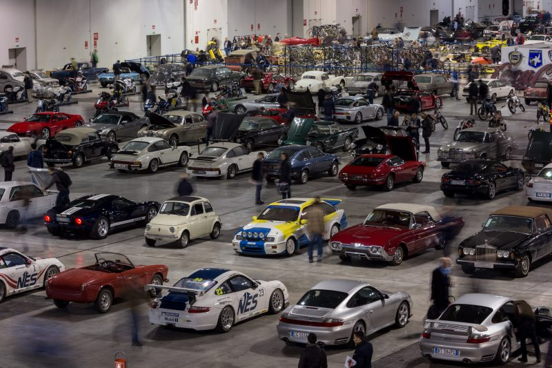 The Thursday preview day was packed with enthusiasts at RM Sothe