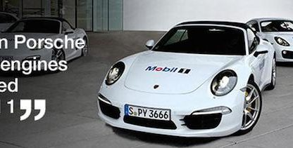 porsche and mobil1 have partners for 20 years. today they extended partnership for 5 more years