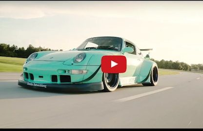 "Watch The Newest RWB Build, Orlando's ""Fighting Night"" Come to Life In Stunning 4k"