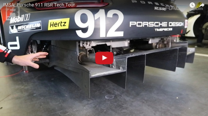 Take A Tech Tour Of The New 911 Rsr With Porsche Factory Driver