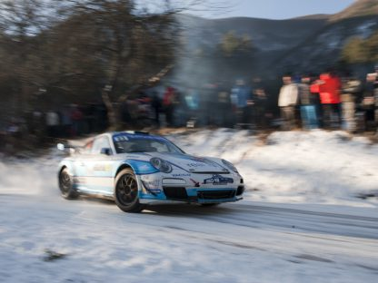 Romain Dumas At the Monte Carlo Rally
