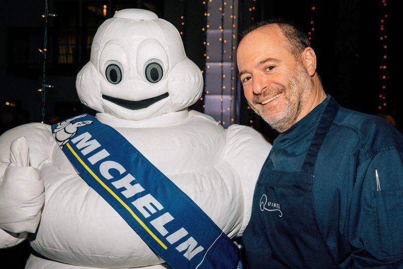 Michael Tusk and the Michelin Man