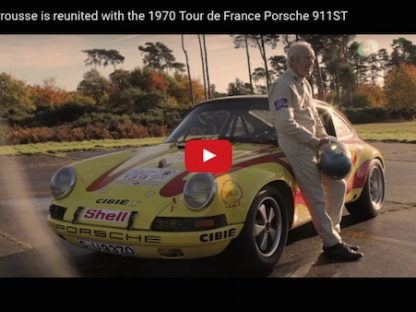 gerard larrousee and his porsche 911 st reunited