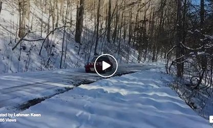 Watch Leh Keen Tear Through the Snow in His 911 Safari