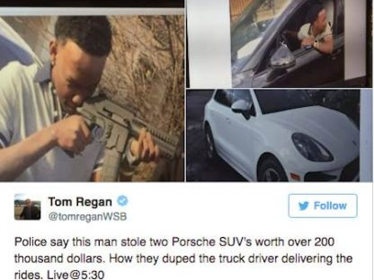 If You're Going To Steal A Porsche, Don't Post About It On Social Media!
