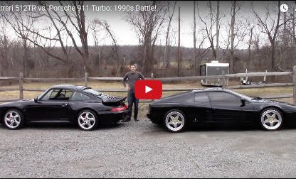Porsche 993 Turbo vs. Ferrari 512TR: Battle of the 1990s Icons