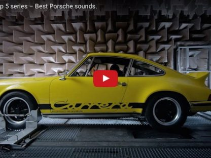 5 best porsche sounds video