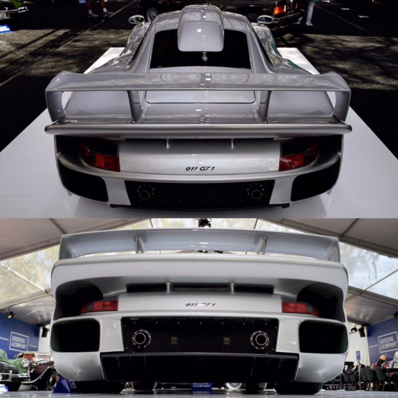 Porsche GT1 Strassenversion for sale during Gooding Auction