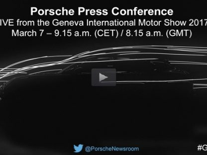 Porsche's Launching Three New Models at The Geneva Auto Show. Here's How To Watch The Press Conference Live