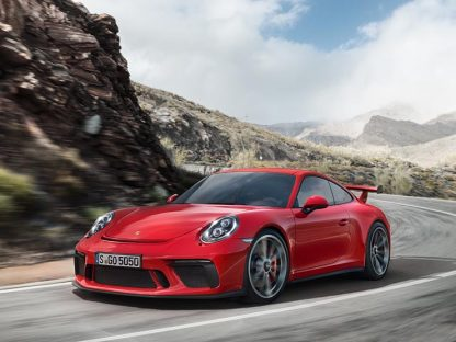 2018 Porsche 911 GT3 Gets 4.0 Engine and Manual Transmission