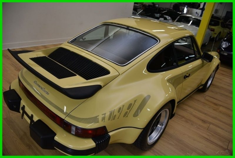 1977 Porsche 911 Turbo Carrera with graphics for sale