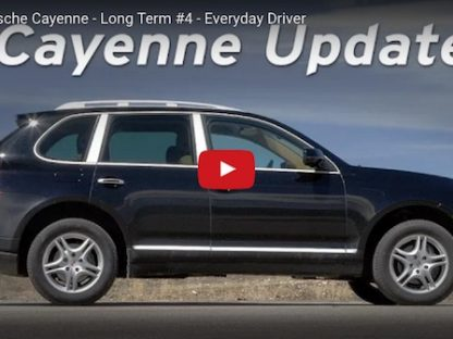 a video highlighting the long-term ownership review of a 2010 Porsche Cayenne