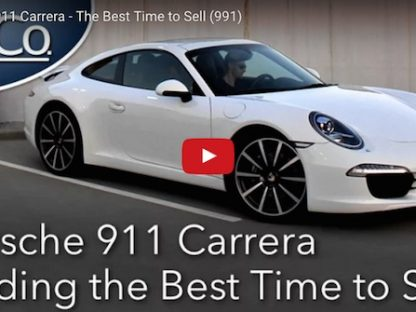 video explaining the best time to sell a 991 generation Porsche 911