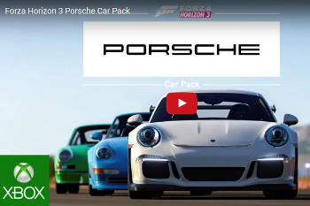 Porsche Announces 6-Year Partnership with Forza Motorsports