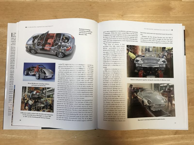 pages 38 and 39 of Porsche Boxster and Cayman - The Complete Story