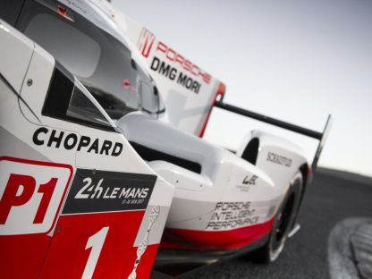 Porsche's LMP Team Has More Sponsors Than You Think
