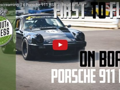 Watch Todd Treffert and his '74 911 RSR school the field at The Mitty.