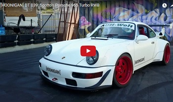 Will Brian Scotto's RWB 964 Turbo do a Burnout?