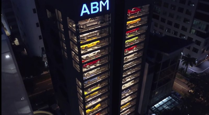 exotic car vending machine in singapore