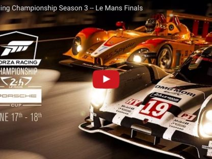 Virtual Racers To Share Podium With Real World Drivers at Le Mans