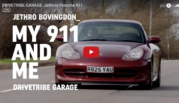 Why Did You Buy Your First Porsche? Jethro Bovingdon Explains His Choice of a 996.