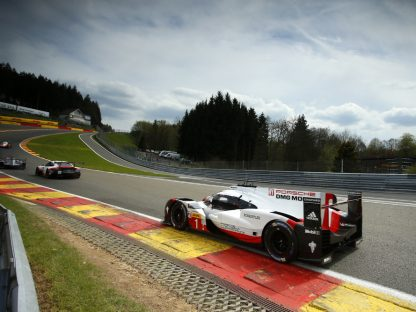 Porsche's Results, Pictures and Video in the WEC Round 2 at Spa