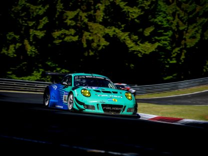 Porsche's Results & Pictures from the Nürburgring 24-hour race