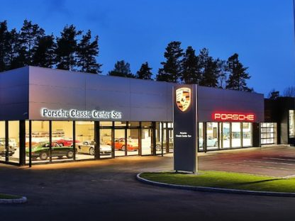Porsche Opens New Classic Center in Norway
