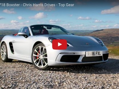 "Chris Harris Thinks The New Boxster Had a ""Personality Transplant"""