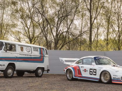 Perfect Paddock Pair: Porsche 934/5 & VW Bus Still Available