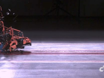LEGO 911 GT3 RS Fails Crash Test in Spectacular Fashion