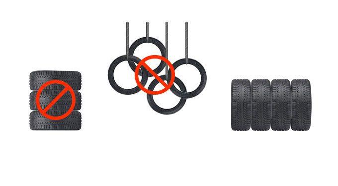 Tire Storage No Wheel
