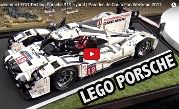 Porsche, LEGO, If You're Listening, We Need Both of These 919 Hybrids
