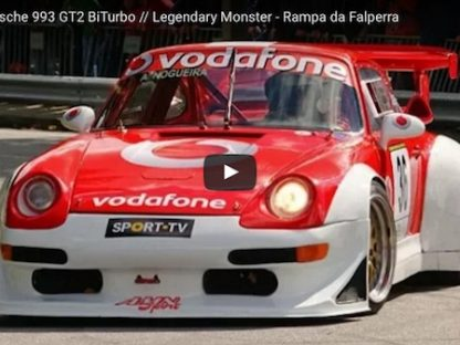 Watch This 700 HP 993 GT2 Make Quick Work of this Hill Climb Course in Portugal