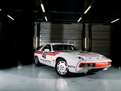 This is the 928 Porsche Entered into the HSCC to Celebrate the model's 40th Anniversary